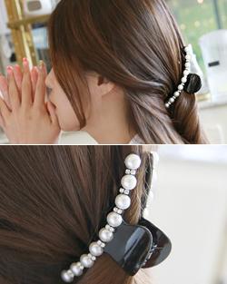 Kira pearl pin clamp (hp433)