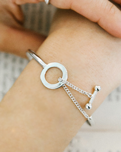 Aenba ring bracelet (br577)