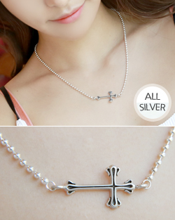 Gothic cross is Necklace (nk010)