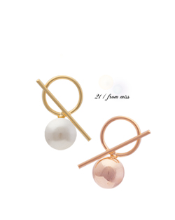See section Bobby pearl earring (er030)
