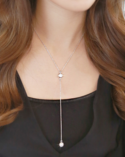 Shine Long Necklace (nk006)