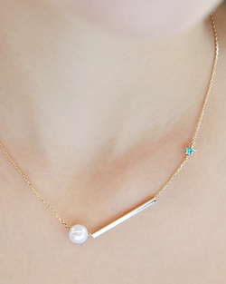 Milky Necklace (nk009)