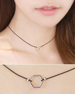 Shake Choker Necklace (nk517)