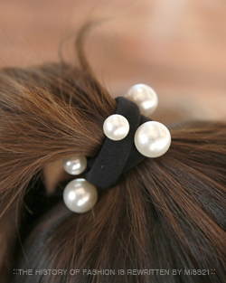 Come pearl hair strap (hs306)