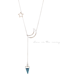 Milky Way Long Necklace (nk008)
