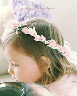 Country Flower crown hairband (hb491)