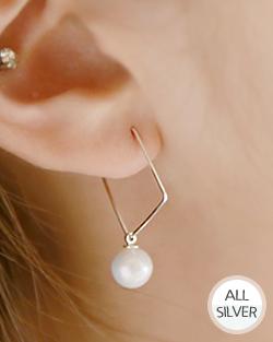 Yo yo-yo is a pearl earring (er019)