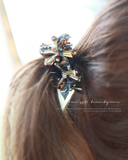 Lollipop flower hair strap (hs295)