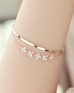 Papa Flower bracelet (br596)