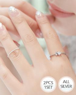 Leah is 2cpSet Ring (rg027)