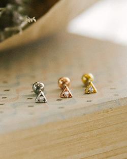 Thank you love piercings (er261)