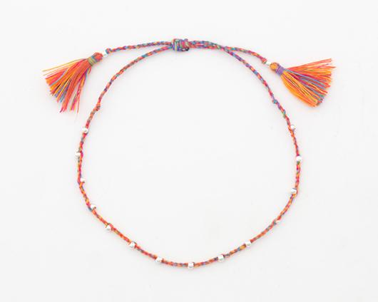 Indian rice tassel thread bracelet (br005)