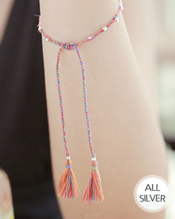 Indian rice tassel thread bracelet (br005)