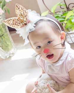 Shiny rabbit hairband (bhb061)