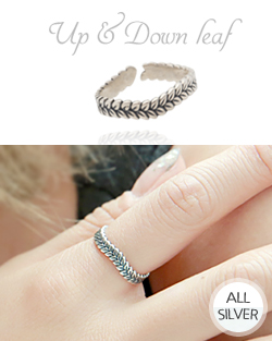 Eopaen down leaf Ring (rg480)