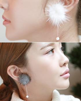 Winter feeling earring (er493)