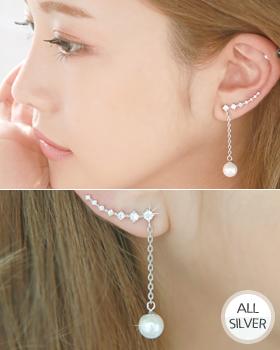 Silver earring (er1044)