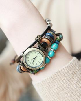 Like a bracelet Clock (br407)