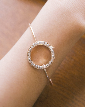 Decorative ring ring bracelet (br579)