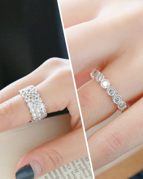 Country cubic Ring (rg491)