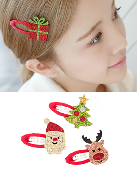 Christmas Hairpin (hp383)