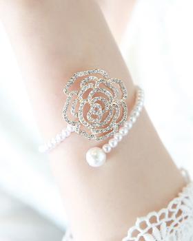 Romance lady rose gold bracelet (br336)