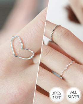 Warm Heart Ring (rg492)