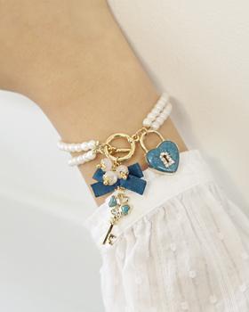 Open Heart bracelet (br460)