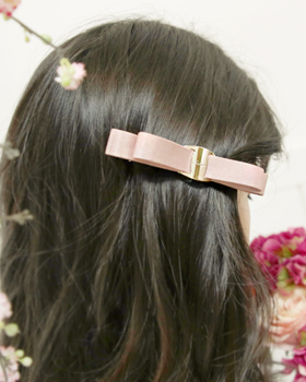 Ribbon barrettes two primary (hp323)