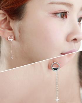 Fill half earring (er1702)
