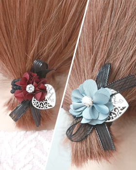 Gillian Flower Hair Strap (hs310)
