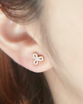 Trefoil Clover earring (er1707)
