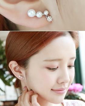 Peas pearl earring (er1688)