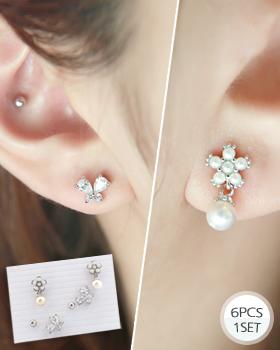 The 6 denier piece earring (er1548)