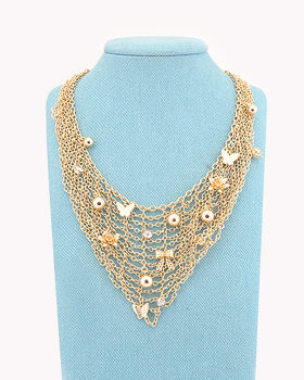 Butterfly Chain Necklace (nk522)