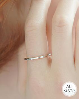Silver Bamboo Ring (rg310)