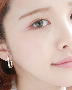 Time one-touch earring (er1562)