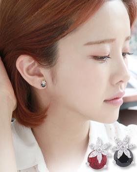Poppy Flower earring (er1568)