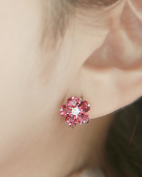 Anemone one-touch earring (er1614)