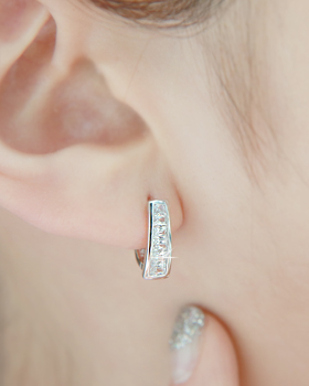 Chive one-touch earring (er1561)