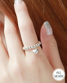 Plump Heart Ring (rg325)