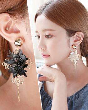 Queen curry girl earring (er1731)