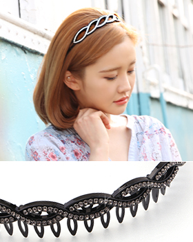 Pretty Cubic hairband (hb555)