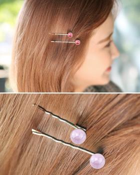 Pastel barley hairpin (hp491)