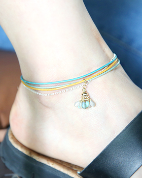 Three line anklets (ak083)