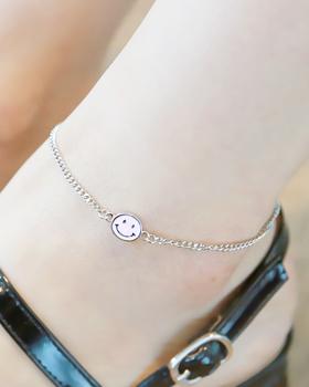 Chain smile anklets (ak085)