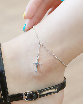 Cross chain anklets (ak087)