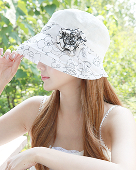 Flower Lady Hat (ot282)