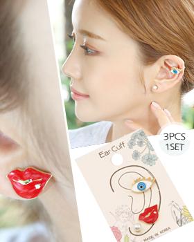 Lip ear cuff (er1764)
