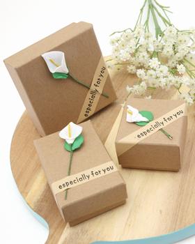 Color flower gift box (ot313)